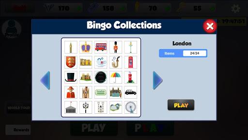 Black Bingo - Free Bingo Games : Bingo World Tour 4.9.64 screenshots 2