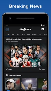 theScore: Live Sports Scores For Pc Download (Windows 7/8/10 And Mac) 2