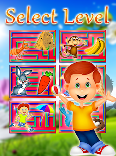 Children Maze : Educational Maze Game Screenshot