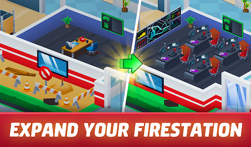 Idle Firefighter Tycoon - Fire Emergency Manager 0.14 screenshots 16