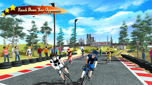 Real Bicycle Racing : BMX  Bicycle game 2021 apkslow screenshots 6