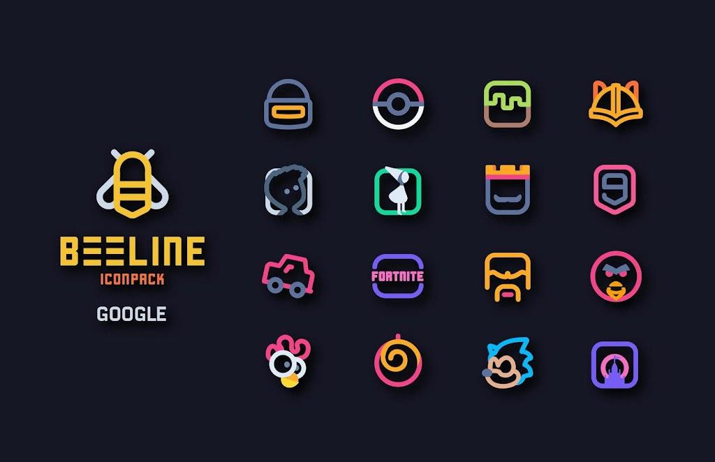 BeeLine Icon Pack  poster 3