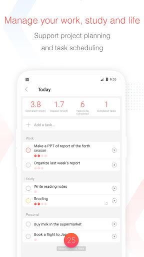 Focus To-Do: Pomodoro Timer & To Do List  Screenshots 3