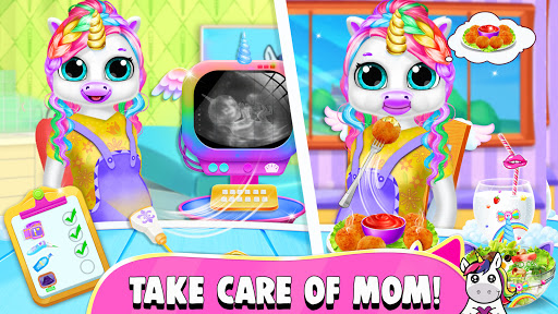Pregnant Unicorn Mom And Baby Daycare 0.13 screenshots 4