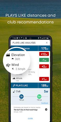 Golf GPS Rangefinder: Golf Pad android2mod screenshots 4