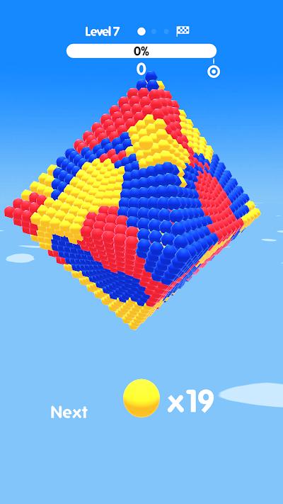 Ball Paint Android App Screenshot