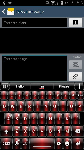 Theme for A.I.type Dusk Red א For PC Windows (7, 8, 10, 10X) & Mac Computer Image Number- 5