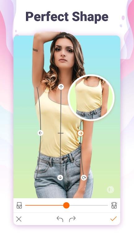 Hotune - Face&body editor&body enhancer&face app poster 7