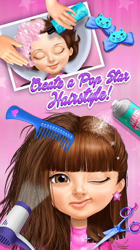 Sweet Baby Girl Pop Stars - Superstar Salon & Show 3.0.10004 screenshots 1