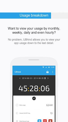 UBhind: No.1 Mobile Life Tracker/Addiction Manager 4.21.0 screenshots 7