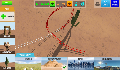 VR Thrills: Roller Coaster 360 (Cardboard Game) 2.1.7 Screenshots 10