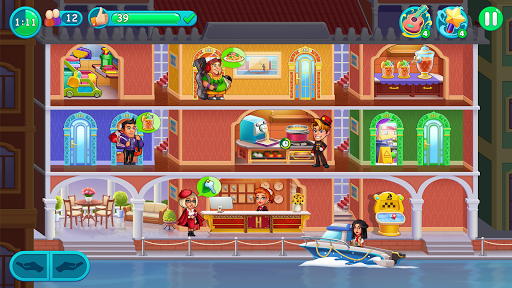 Hotel Madness: Grand Hotel Doorman Mania Story 1.0.7 screenshots 4