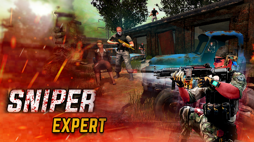 Sniper game: Shooter: shooting games: 3D sniper  screenshots 6