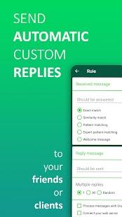 AutoResponder for WA - Auto Reply Bot Screenshot