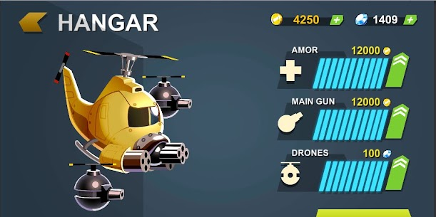 Heli Hero : Helicopter Shooter MOD APK 0.9 (Unlimited Money) 6