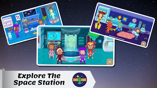 Tizi Town - My Space Adventure Games for Kids 1.1 Screenshots 2