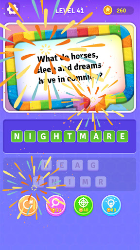 BrainBoom: Word Riddles Quiz, Free Brain Test Game screenshots 4