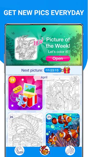 Happy Canvasu2122 - Color by Number Book 2.1.2 screenshots 6