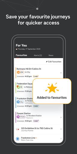 Public Transport Victoria app  Screenshots 8