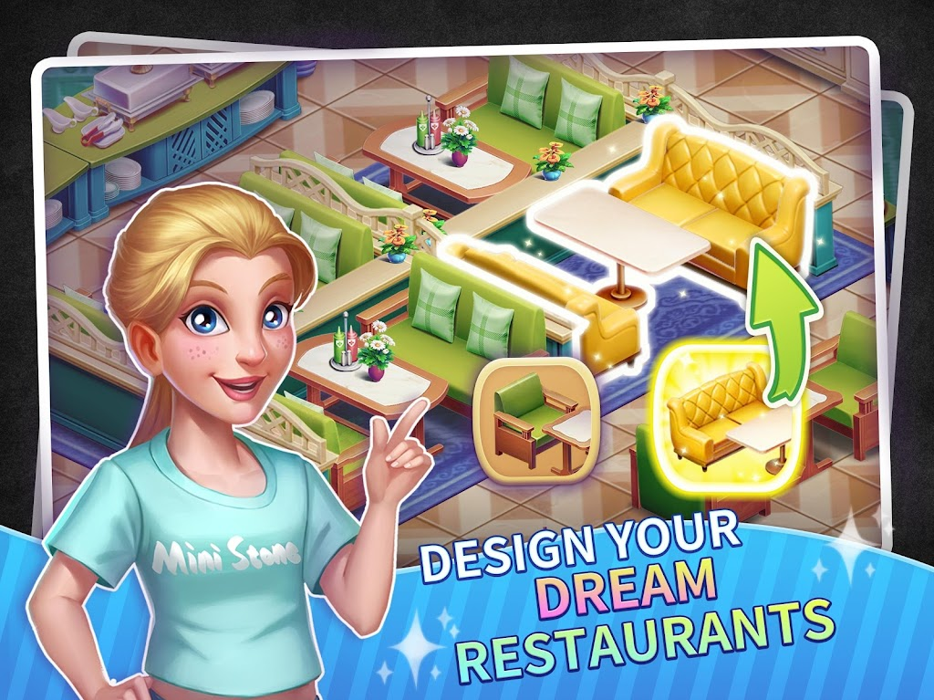 My Restaurant Empire - 3D Decorating Cooking Game  poster 10