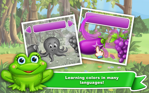 Learn colors for toddlers! Kids color games! 1.1.8 screenshots 2