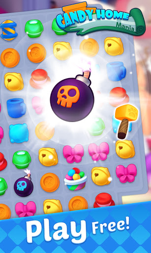 Candy Home Mania - Match 3 Puzzle screenshots 2