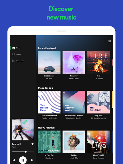 Spotify: Listen to new music and play podcasts screenshot 8