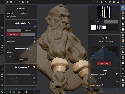Nomad Sculpt 1.40 Screenshots 15