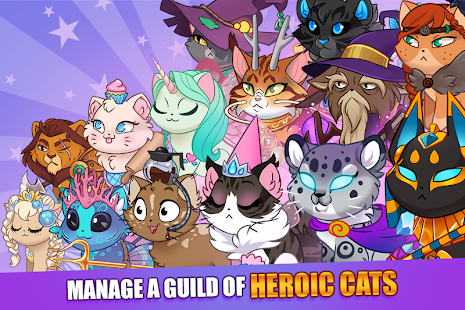 Castle Cats - Idle Hero RPG Screenshot