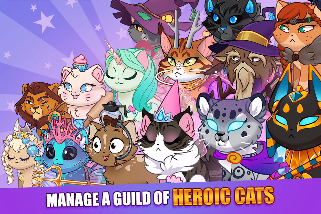 Castle Cats - Idle Hero RPG poster 7