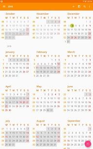 aCalendar – a calendar app for Android (MOD, Premium) v2.5.2 11