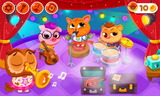 Bubbu School - My Cute Pets | Animal School Game apk