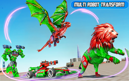 Dragon Robot Car Game u2013 Robot transforming games 1.3.6 Screenshots 14
