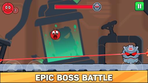 Bounce Ball 6: Red Bounce Ball Hero  screenshots 8