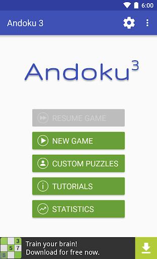 Andoku Sudoku 3 1.17.0 screenshots 1