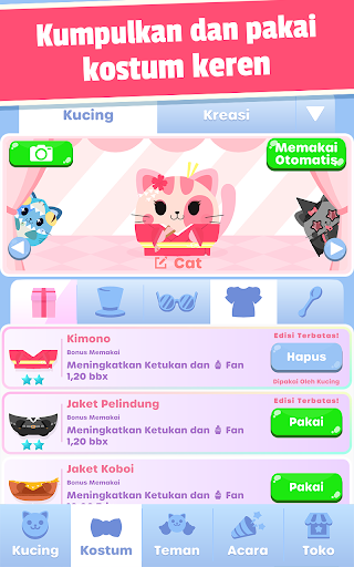 Kucing Rakus:Game Clicker Imut