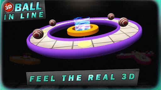 3d ball in line screenshot 2