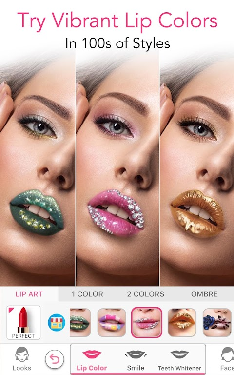YouCam Makeup-Magic Selfie Cam & Virtual Makeovers  poster 2