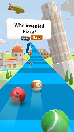 Trivia Race 3D - Roll & Answer screenshots 2