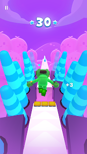 Pixel Rush Mod Apk- Epic Obstacle Course Game (Free Upgrade) 6