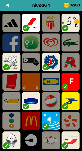 Logo Test: Franu00e7ais Quiz & Jeu, Devinez la Marque screenshots 1