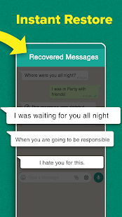 What Recover Deleted Messages & Media for whatsapp