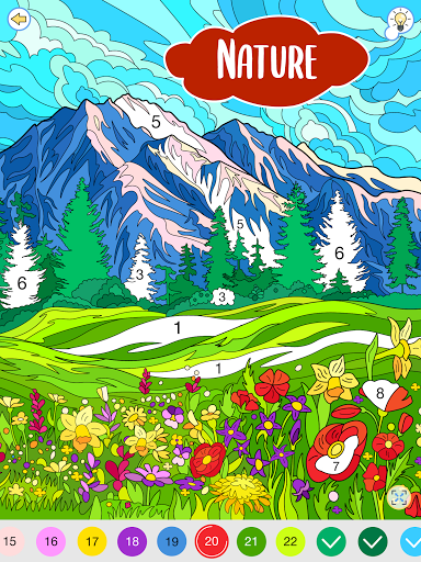 Happy Canvasu2122 - Happy Paint Coloring Book android2mod screenshots 9
