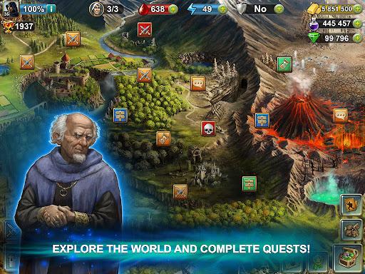 Blood of Titans: Quest & Battle Fantasy ccg 1.19 screenshots 14