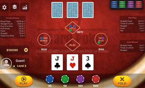 Three Card Poker 2.0.5 screenshots 2