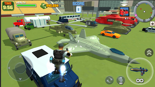 Gangster City: OpenWorld Crime Shooting Game- FPS  screenshots 5
