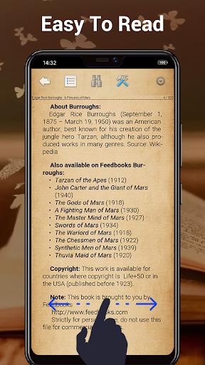 EBook Reader & Free ePub Books android2mod screenshots 2