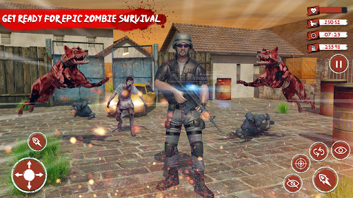 Zombie Target Dead Survival-Reddy Zombies Shooting modavailable screenshots 4