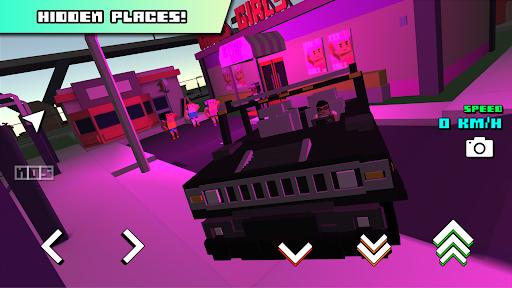 Blocky Car Racer - racing game 1.36 screenshots 8