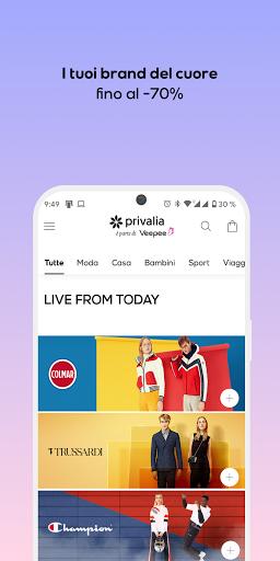 Privalia - Outlet con i migliori marchi di moda android2mod screenshots 1